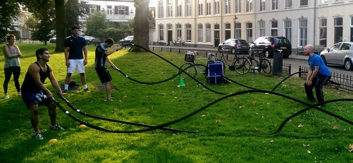 Bootcamp training haarlem ripperdapark power ropes