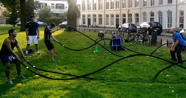 Bootcamp training haarlem ripperdapark power ropes